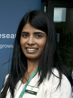 Dr Smita Kurup, Head of Bioimaging at Rothamsted Research